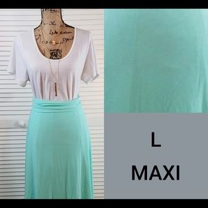 LuLaRoe Maxi Skirt L